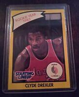 Clyde Drexler_Starting Lineup 1983  Rookie Year Card_KENNER