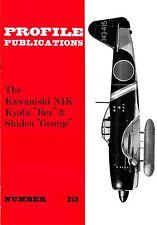 KAWANISHI N1K KYOFU & SHIDEN: PROFILE PUBS #213/AUGMENTED DOWNLOAD