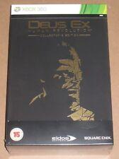 DEUS EX HUMAN REVOLUTION per Collezionisti Edizione Pal UK Xbox 360 NUOVO SIGILLATO Limited