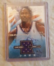 Karl Malone #d/16 - 2001-02 Fleer Banner Season Game Worn Jersey