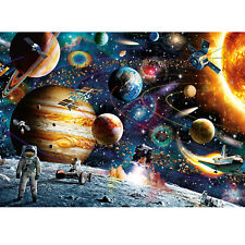 Space Traveler 1000 Piece Jigsaw Puzzles for Adults Kids Game Toys Assembling US