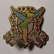 Tinker Bell Frame with Birds & Flowers, DA Disney Auctions (P.I.N.S.) Pin LE1000