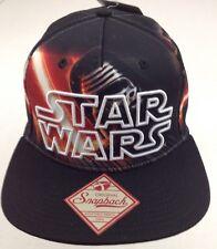buy popular 7e047 e4b2b Men s Star Wars Episode VII 7 Kylo Ren Baseball Cap Hat Snapback Black OSFM