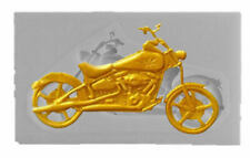 Motorcycle Silicone Mold for Fondant Gum Paste Crafts