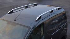 Alu Roof Rack Rails Side Bars Set To Fit SWB Peugeot Partner (2008+)