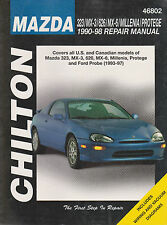 1990-1998 Chilton Mazda 323, MX-3, 626, MX-6, Millenia & Protege Repair Manual