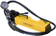 HYDRAULIC HAND PUMP DOUBLE ACTING 10,000PSI 2M HOSES
