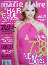 """JAMES """"JAIME"""" KING May 2003 MARIE CLAIRE Magazine"""