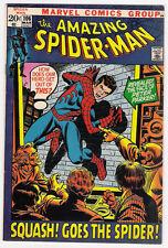 (1971) THE AMAZING SPIDER-MAN #106 JOHN ROMITA! GWEN STACY! MARY JANE! 7.0 FN/VF