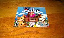 I Luv House Pets Love Groom Feed Them PC CD-Rom Software Computer Video Game Cat