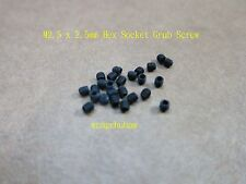 25 Pcs Hex Socket Grub Screw - M2.5 x 2.5mm