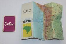 BARILLA MULINO BIANCO SORPRESINE 1984 CARTINA BRASILE