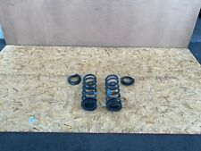 FORD MUSTANG GT 2015-2020 OEM LEFT AND RIGHT REAR SPRING WITH RUBBER MOUNTS 30K