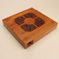 Bamboo Tea Tray Drainage Water Storage Kung Fu GongFu Tea Table Serving Tray