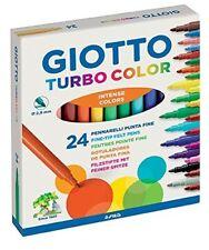 Colori Pennarelli a Spirito da 24 Giotto Fila Turbo Color nuovi