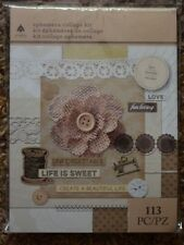 Brand New ~ Firefly ephemera collage Kit for Scrapbooking Craft Total of 113 pc