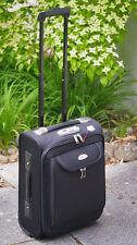 TRAVELLER TROLLEY SCHWARZ Trolley Reisekoffer Handgepäck Boardcase Cabin NEU