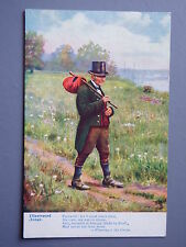 R&L Postcard: Song Card, Wearing O the Green, Farewell Man Tuck Songs of Ireland