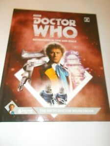 The Sixth Doctor Sourcebook  Dr Who AITAS RPG - Supplement