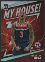 2019-20 Donruss Optic My House HOLO #14 Bradley Beal Washington Wizards