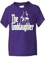 Le Filleule God Parents Baptême Cadeau Humour T-Shirt Fille âge 1-13 ans