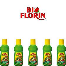 (€11,64 / L) BI FLORIN Universalpflanzendünger 5x 275ml Zimmer- & Gartenpflanzen