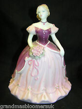 COALPORT LADY FIGURINE DEBUTANTE MARIANNE BY JENNY OLIVER MADE IN EHNGLAND