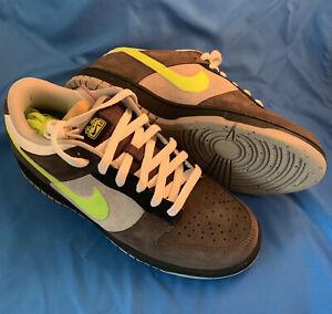 Nike Dunk Low 6.0 SB 314142-072  BRAND NEW DS Midnight Fog White Sz 9.5 Rare