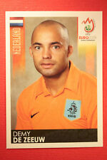 Panini EURO 2008 N. 266 DE ZEEUW NEDERLAND NEW With BLACK BACK TOPMINT !!