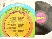 MOTOWN LP WINNERS CIRCLE NUMBER 1 HITS volume 5 usa gordy 950..... 33 rpm