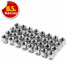 """32 Open End 9/16-18 Acorn Lug Nuts Cone Seat 3/4"""" Hex for DODGE FORD CHEVROLET"""