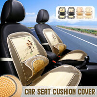 Car Seat Cushion Cover Protector Cover Cushion Waist Massage Beads