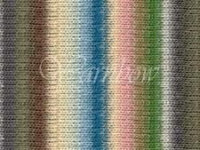 NORO ::Kureyon #343:: wool knitting yarn Greys-Moss-Ecru-Nude-Sky