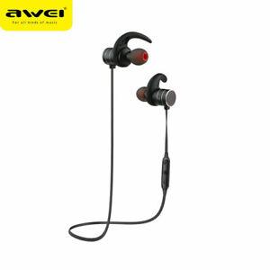 Awei AK5 IPX4 Waterproof Sports Bluetooth In-ear Sport Magnetic Earphone Earbuds