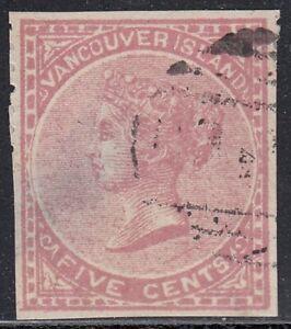 British Columbia 1865 5 cent rose Victoria Spiro forgery, counterfeit, fake.