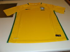 Team Brazil 2016 Federation Soccer Jersey Menès Stadium Home Medium Copa America