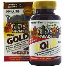 Nature's Plus, Source of Life Animal Parade Gold, Children's Chewable Vitamins
