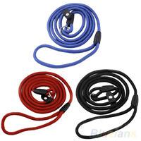 Adjustable Cat Dog Animals Leash Nylon Rope Training Traction Lead Strap  LMULUL