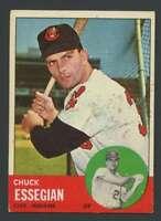 1963 Topps #103 Chuck Essegian EX/EX+ Indians 22697