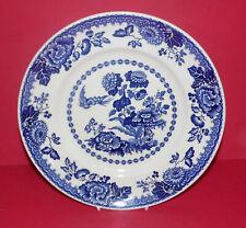 Mason's Ironstone * la Colección Azul Y Blanca * placa de coleccionistas de Persiana *