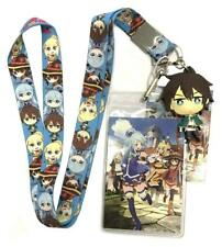 NEW GE Konosuba Group Characters Lanyard With ID Badge Holder GE37872 US Seller