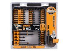 DeWalt Tool Screwdriver Impact Torsion Bit Holder Set 40 Pc Magntic Screw Lock
