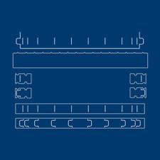 Tattered Lace flectere 3D Sistema De Corte-Die Set-TLD0050-libre de Reino Unido P&p