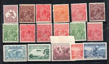 Australia KGV mint LHM collection WS14326