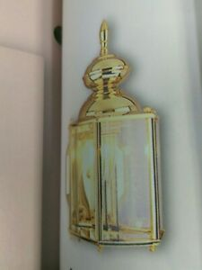 """VAXCEL LIGHTING OW1113G GOLD  91/2""""H X5 1/2""""W  1 Light Outdoor Wall Sconce( #21A"""