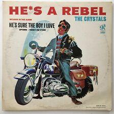 The Crystals He's A Rebel Original 1963 Philles Records Lp Blue NM- Vinyl! Rare!