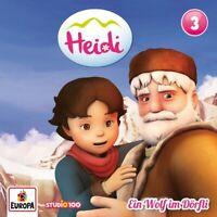 HEIDI - 03/EIN WOLF IM DÖRFLI  (CGI)   CD NEW