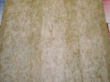 Green & Brown Faux Finish Wallpaper With Stripes by Blonder Il42115