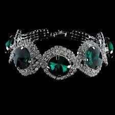 Princess Kate/Diana Bracelet Emerald Green and Diamond Replica