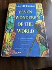 Seven Wonders of The World Lowell Thomas Book Club 1956